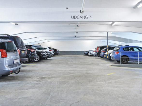 Parkeringsanlæg i København